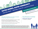 Safer Homes Safer Community