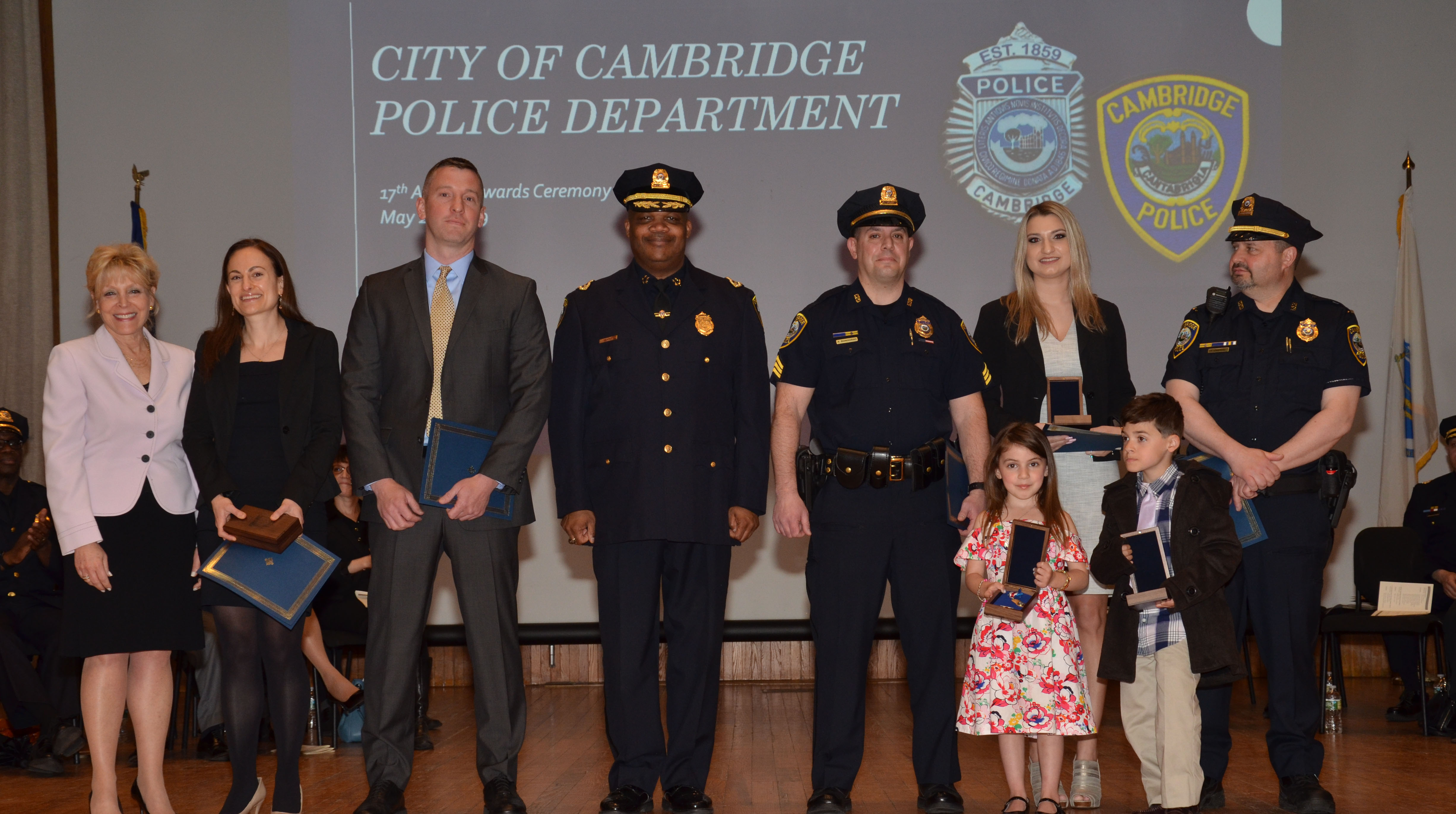 CPD Recognizes Officers Professional Staff and Community