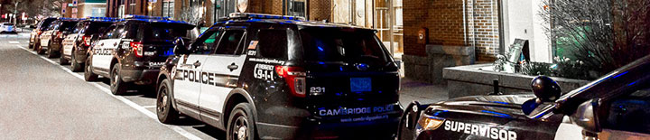 Cambridge Police Patrol Cars