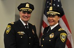 New Cambridge Police Superintendents DeMarco and Elow
