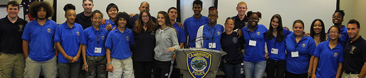Cambridge Police Youth Academy