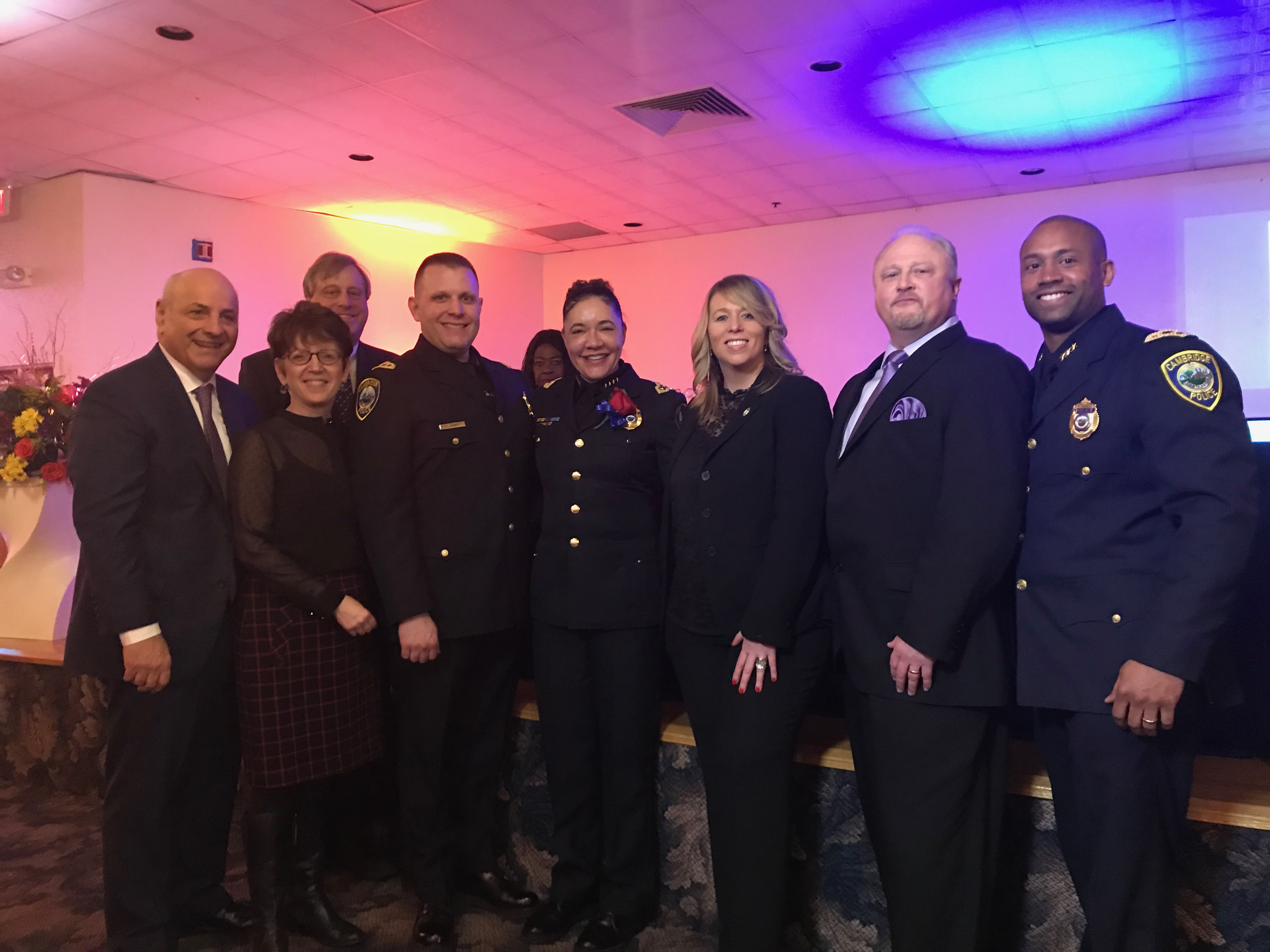 Cambridge Police Superintendent Elow Recognized as Social Justice Leader in the Community