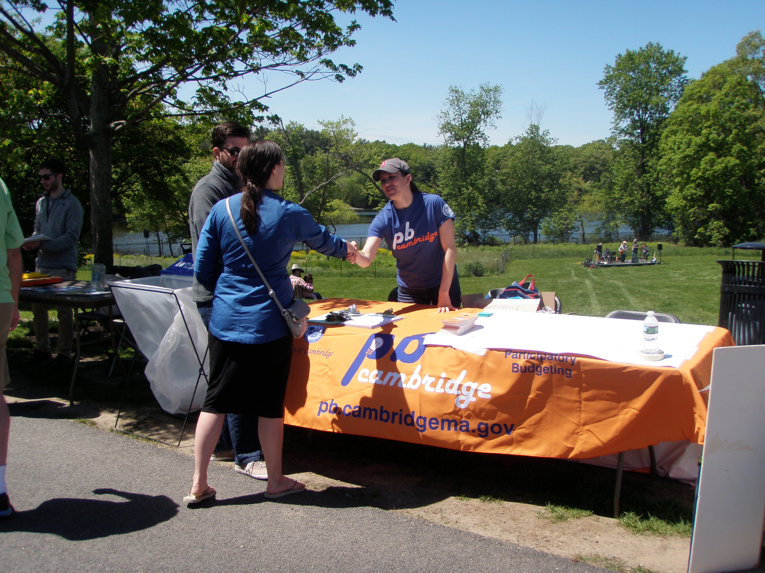 Participatory Budgeting Fresh Pond Day