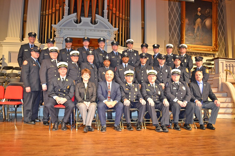2017 Firefighter Awards