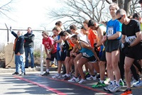 CityRun Starting Line by Peter Payack