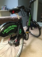 Hubway 2-Year Anniversary 1 Million Rides