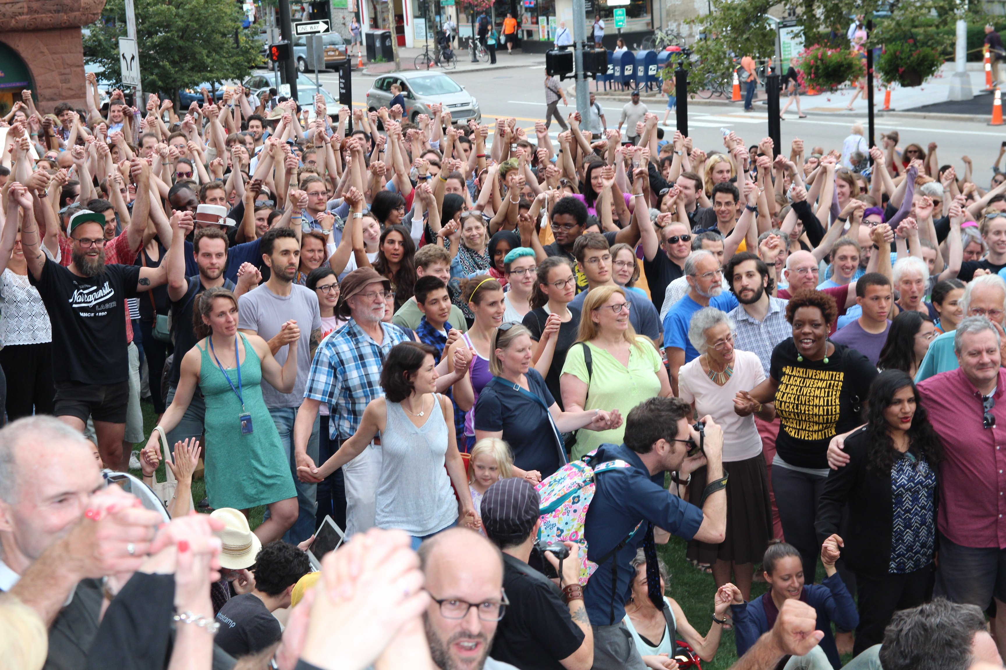Cambridge Unity Rally in Support of Charlottesville