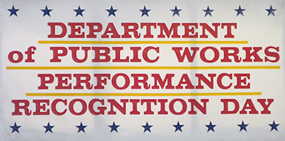 Department of Public Works Commissioner's Award