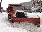 International Six-Wheel Snow Plow