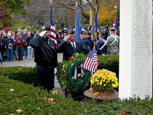 Veteran's Day Ceremony