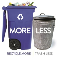 Recycle More, Trash Less