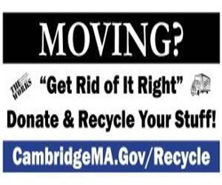 Moving Lawn Sign