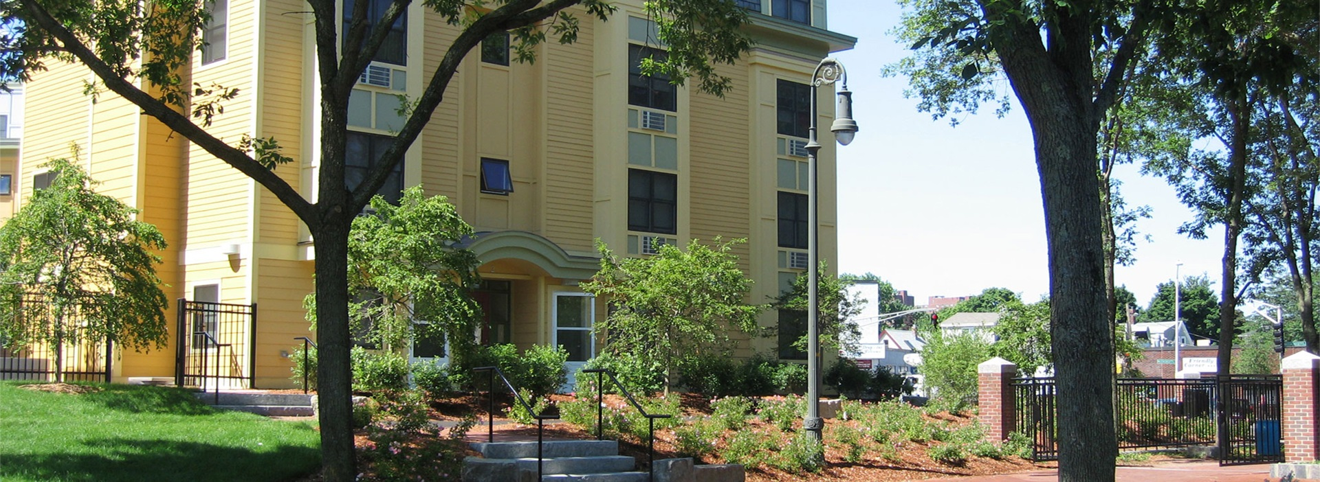 Photo of the Trolley Square Apartments