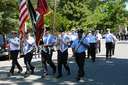 Cambridge Fire Department Color Guard (5/28/2009) - Cynthia Abatt