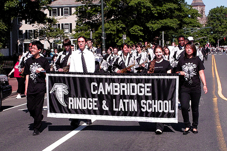 Cambridge Rindge and Latin School Band (5/25/2009) - Cynthia Abatt