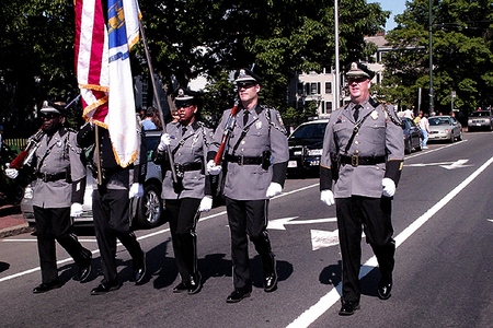 Cambridge Police Department Color Guard (5/25/2009) - Cynthia Abatt