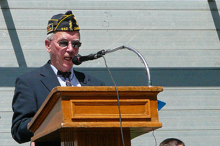 James Gray, President of the Cambridge Veterans' Organization (5/25/2009) - Cynthia Abatt