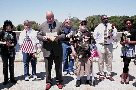 Elected Officials and Participants at the Weeks Bridge Memorial Ceremony   (5/25/2009) - Cynthia Abatt