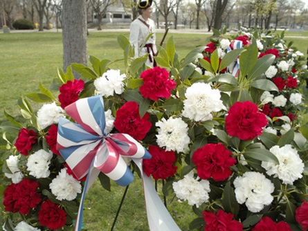 Patriot's Day Wreaths (4/20/2009) - Cynthia Abatt