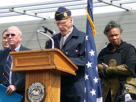 Chaplain Frank Shay Delivers the Invocation (4/20/2009) - Cynthia Abatt