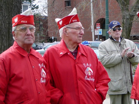 Members of the Cambridge Polish American Veterans in Attendance at the Observance   (4/20/2009) - Cynthia Abatt