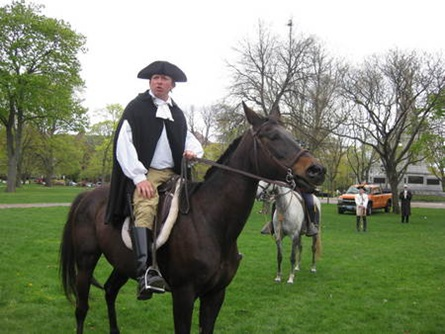 Gen William Dawes Reenactor Sgt Andrew Tobin National Lancers   (4/28/2010) - Ini Tomeu