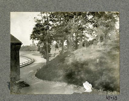 Photo of Fresh Pond Park taken in 1901.