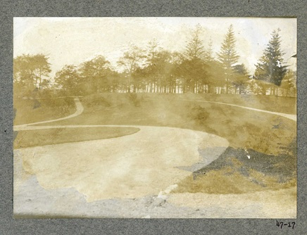 Photo of Kingsley Park taken in 1901.